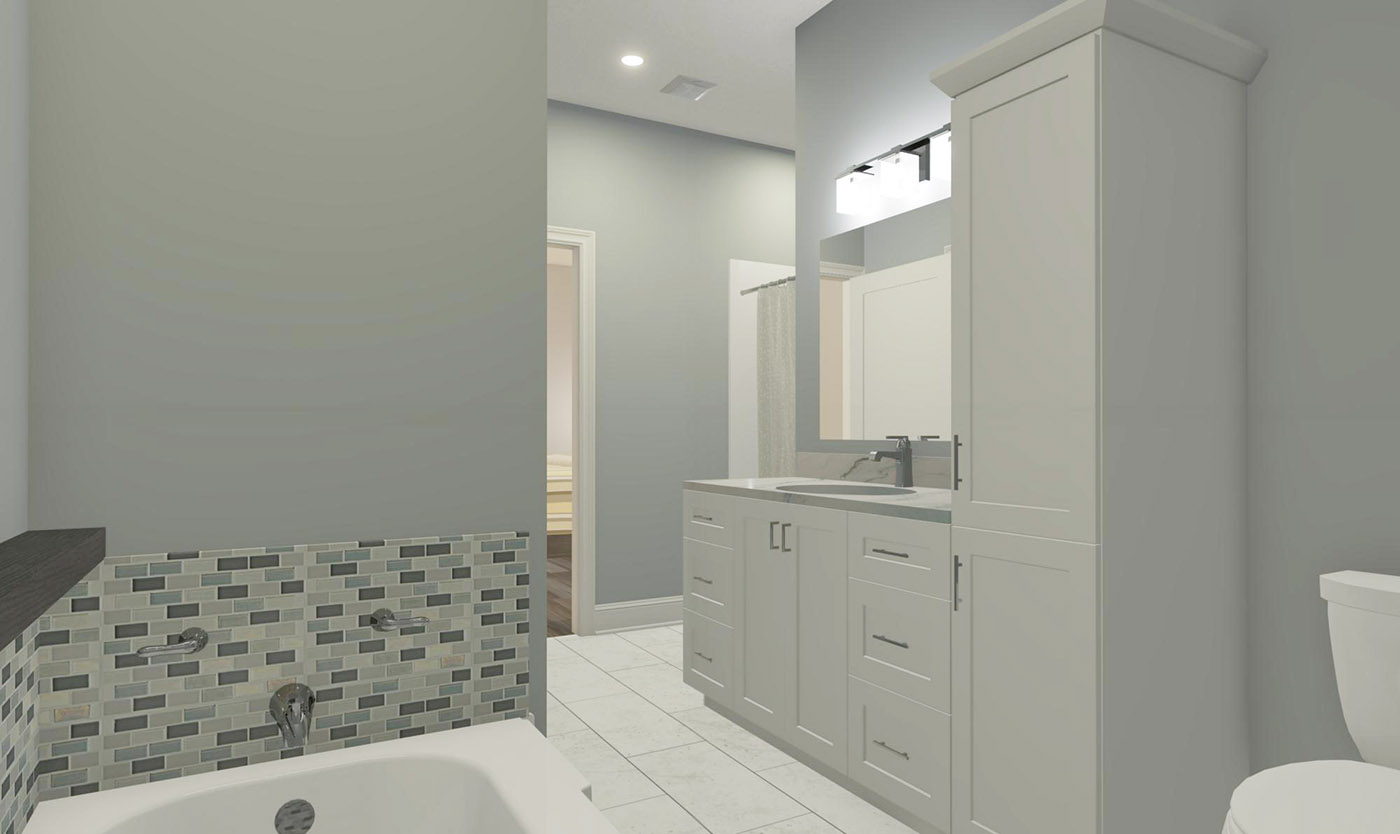 Jeasnic Estates main bath-