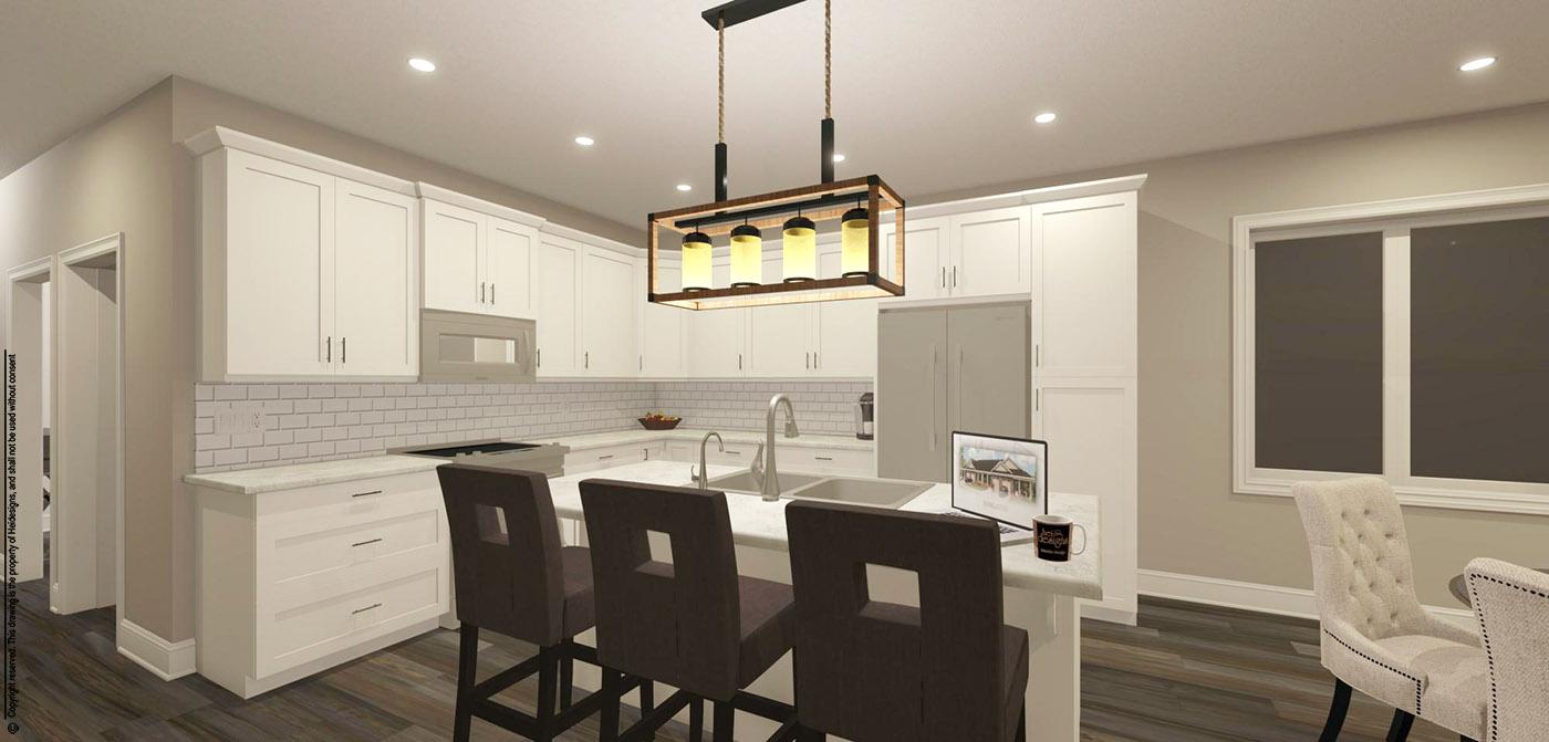 Jeasnic Estates view of kitchen